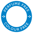 Perfume and colour free