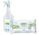 mikrozid universal liquid and wipes